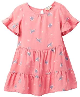 Tucker + Tate Print Tiered Dress (Toddler Girls, Little Girls & Big Girls)