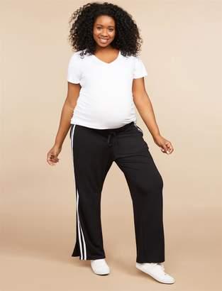 Motherhood Maternity Plus Size Under Belly Maternity Lounge Pants