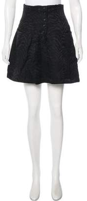 Rachel Comey Silk-Blend Mini Skirt