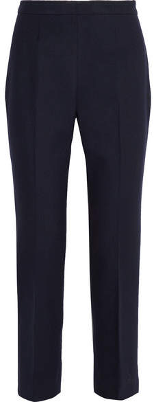 Prada - Wool-blend Slim-leg Pants - Navy