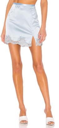 Fleur Du Mal James Lace Slip Skirt