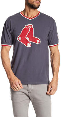 American Needle Eastwood V-Neck Tee Red Sox