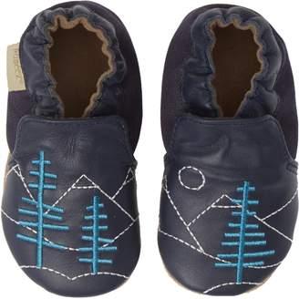Robeez R) Mountain Explorer Moccasin Crib Shoe