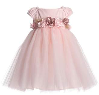 Biscotti Velvet & Tulle Dress