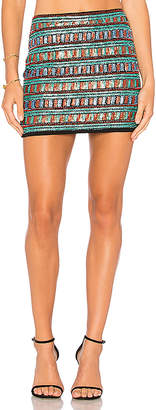 Endless Rose Sequin Mini Skirt in Black $84 thestylecure.com