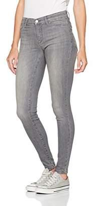 Selected Women's Sfgaia Hr JNS Jegging Metal Grey Noos Trouser