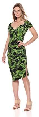 Norma Kamali Women's Sweetheart Side Drape Dress