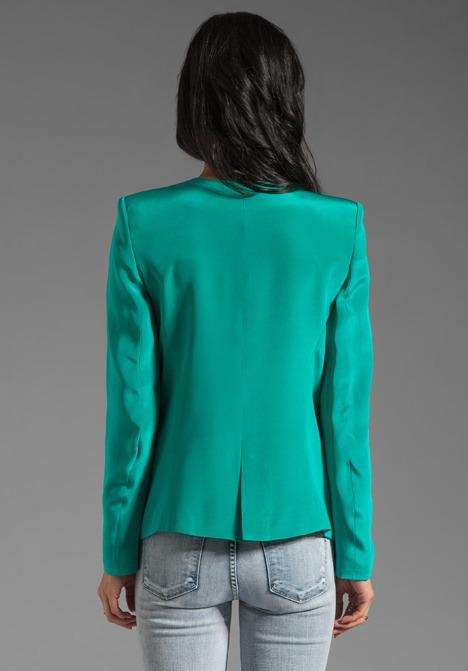 Parker Crepe Blazer Jacket