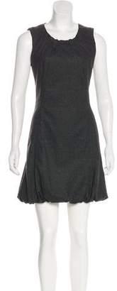Dolce & Gabbana Sleeveless Wool Dress