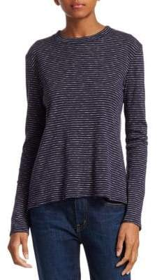Derek Lam 10 Crosby Stripe Long Sleeve T-Shirt