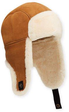 UGG Men s Shearling-Lined Sheepskin Trapper Hat 5febd605f843