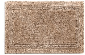 Abyss Abyss Super Pile small reversible bath mat - White