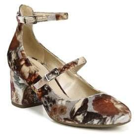 Sam Edelman Joyce Floral Velvet Dress Pumps
