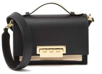 Zac Posen Earthette Accordion Leather Shoulder Bag
