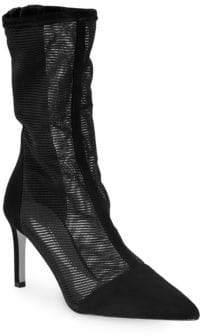 Cushnie et Ochs Mesh Ankle Boots