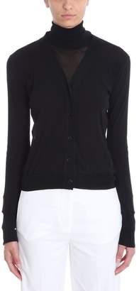 Jil Sander Transparent Long Sleeved Cardigan