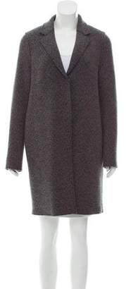 Harris Wharf London Fitted Knit Coat