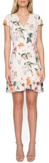 Women's Willow & Clay Floral Wrap Dress