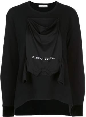 Tsumori Chisato applique detail T-shirt