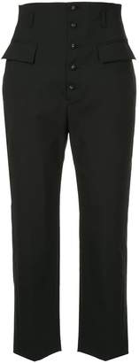 Le Ciel Bleu high waisted suit trousers