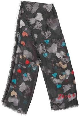 Zadig & Voltaire Abstract Print Scarf