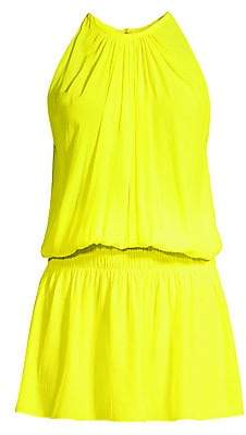 Ramy Brook Women's Paris Smocked Waist Dress