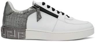 Versace contrast sneakers