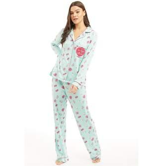 132c107bb0 Chelsea Peers Womens No Boys Allowed Pyjama Set Multi