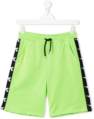 Diadora Junior logo track shorts