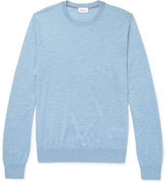 Brioni Slub Cashmere-Blend Sweater