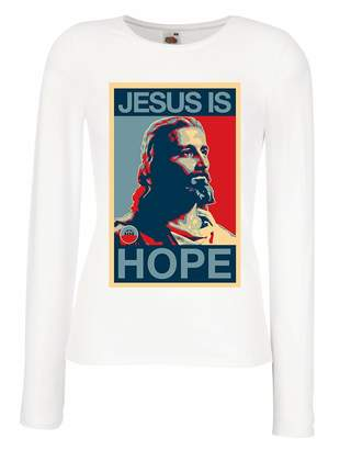 lepni.me T shirt women Jesus is Hope! Religion - Resurrection Shirt -  Christian cd68069e4