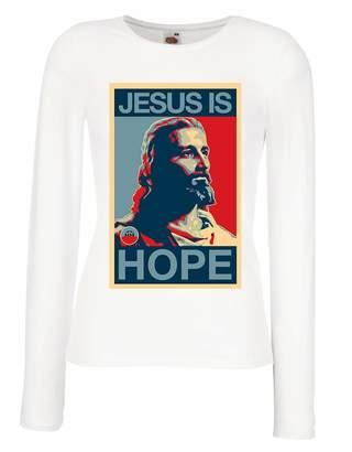 lepni.me T shirt women Jesus is Hope! Religion - Resurrection Shirt -  Christian 597c556fd