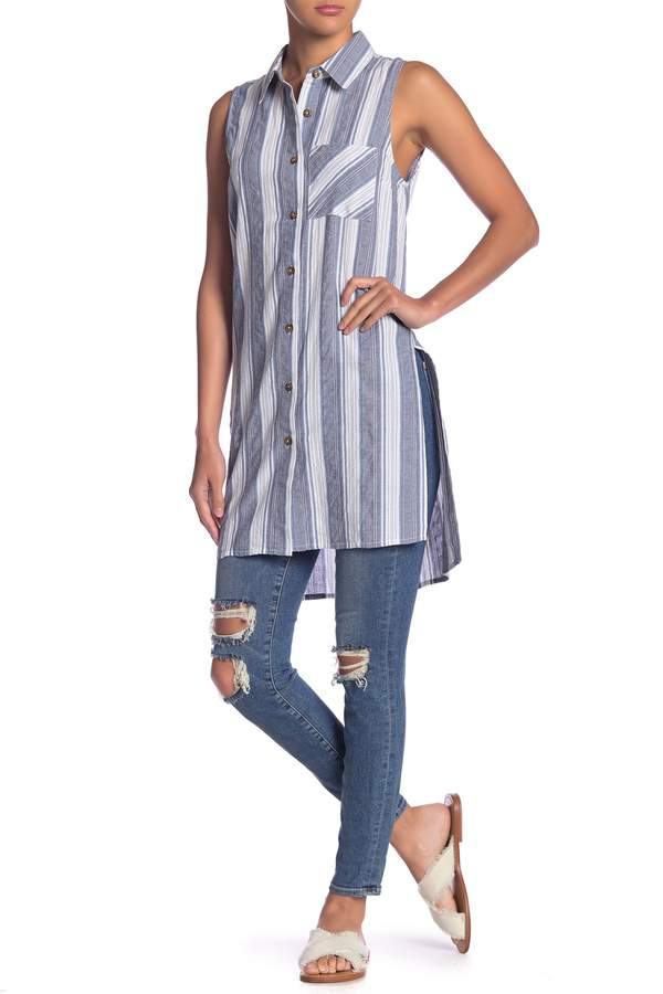 Olive & Oak Cali Striped Tunic