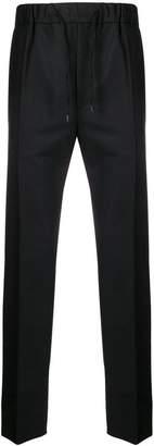 Fendi drawstring waist trousers