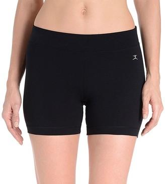 Danskin Women's Cotton-Blend Bike Shorts