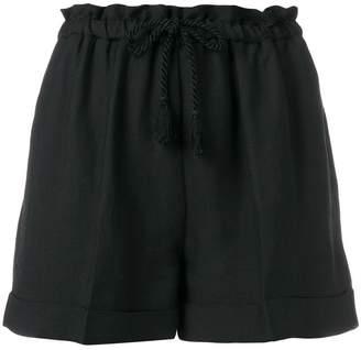 Twin-Set drawstring waist shorts