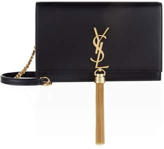 Saint Laurent Mini Leather Kate Tassel Shoulder Bag