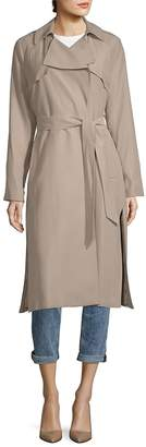 Cole Haan Women's Notch Lapel Belted Trench Coat