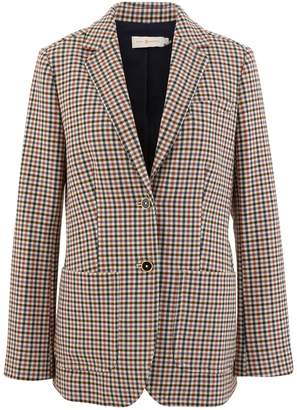 Tory Burch Chequered blazer