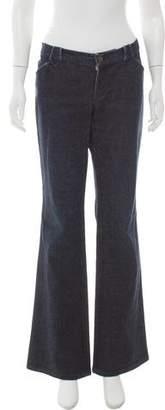 Ralph Lauren Black Label Low-Rise Flared Jeans