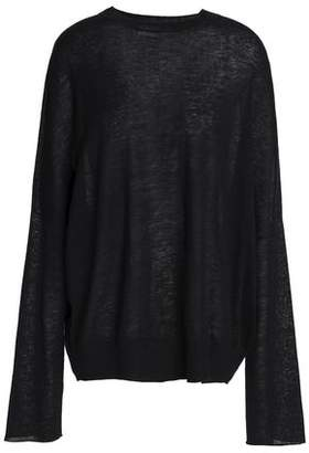 Jil Sander Linen Cashmere And Silk-Blend Sweater