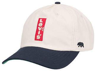 Levi's Logo Cotton Baseball Cap