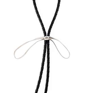 "MARIE JUNE""¢ Jewelry - Pussycat Bow Silver Bolo Tie"