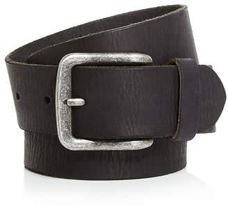 John Varvatos Star USA Artisan Textured Leather Belt $88 thestylecure.com