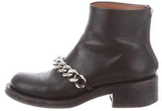 Givenchy Laura Chain-Link Booties