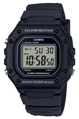Casio Men's Large Case Digital Watch - W218H-1A