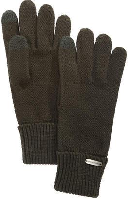 Steve Madden Solid Boyfriend Touch Gloves