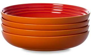 Le Creuset Set of Four Pasta Bowls