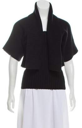 Michael Kors Rib Knit Wool Cardigan Set