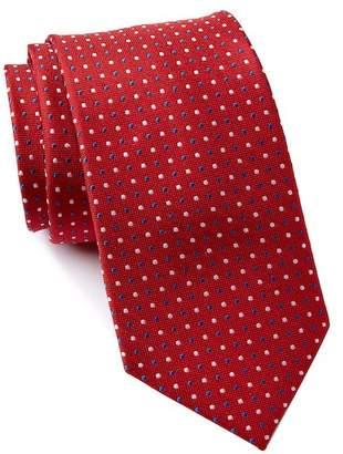 Tommy Hilfiger City Dot Silk Tie